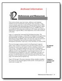 Archived Information References and Reso... by Department of Education