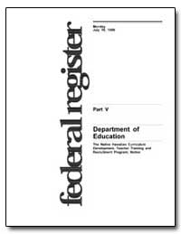 Department of Education [Cfda No. : 84. ... by Johnson, Judith