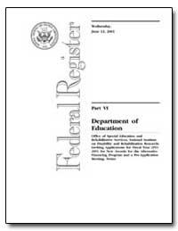 Department of Education [Cfda No. : 84. ... by Corrigan, Francis V.