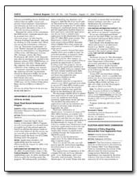 Department of Education [Cfda No. 84. 35... by Simon, Raymond J.