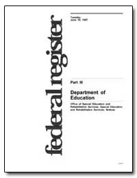Department of Education Office of Specia... by Heumann, Judith E.