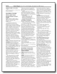 Department of Defense Defense Logistics ... by Von Bernewitz, Carla A.