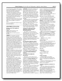 Department of Education Privacy Act of 1... by Shaw, Theresa S.
