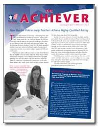 The Achiever April 15, 2004 Volume 3, No... by Ash, Nicole