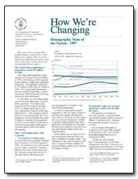 How We'Re Changing Demographic State of ... by Deardorff, Kevin
