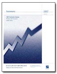 Summary 1997 Economic Census Finance and... by Evans, Donald L.