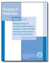 Progress in Prevention by Ginsburg, Alan L.