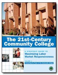 The 21St-Century Community College by Sclafani, Susan