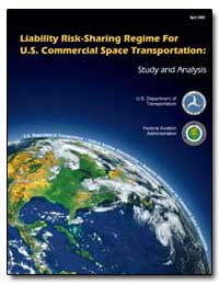 Liability Risk-Sharing Regime for U. S. ... by Federal Aviation Administration