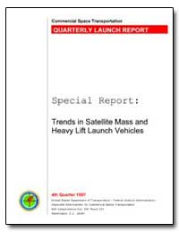 Special Report : Trends in Satellite Mas... by Federal Aviation Administration