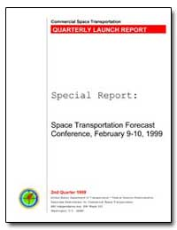 Space Transportation Forecast Conference... by Federal Aviation Administration