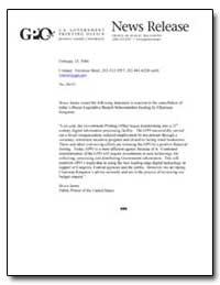 News Release by Meter, Veronica