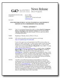 Gpo Provides Public Access to Official G... by Meter, Veronica