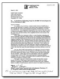 Can-Spam Act Rulemaking, Project No. R41... by Lampo, Joseph P.