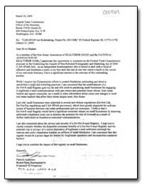 Can-Spam Act Rulemaking, Project No. R41... by Anderson, Patricia