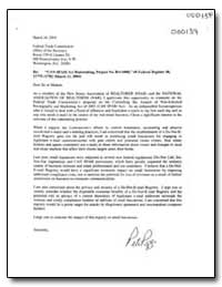 Can-Spam Act Rulemaking, Project No. R41... by Federal Trade Commission