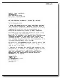 Re: Can-Spam Act Rulemaking, Project No.... by Sullivan, Robert