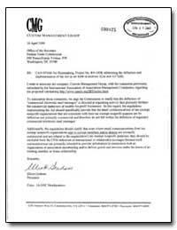 Re: Can-Spam Act Rulemaking, Project No.... by Graham, Elliott