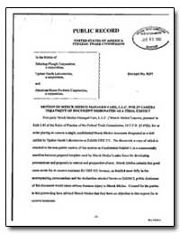Public Record United States of America F... by Brown, Erin M.