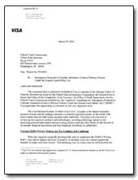 Re: Interagency Proposal to Consider Alt... by Schrader, Russell W.