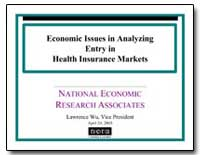 Economic Issues in Analyzing Entry in He... by Wu, Lawrence