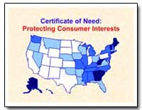 Certificate of Need : Protecting Consume... by Federal Trade Commission