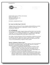 Re: Contact Lens Rule, Project No R41100... by Federal Trade Commission