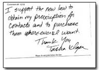 I Support the New Law to Obtain My Presc... by Federal Trade Commission