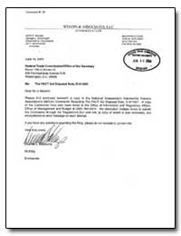 Re: The Fact Act Disposal Rule, R-411007 by Stockamp, Deanna L.