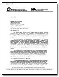 Re: Tsr Fee Rule, Project No. P034305 by Delgado, Jeanne Mcglynn