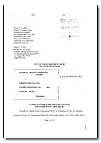 United States District Court District of... by Fix, David C.