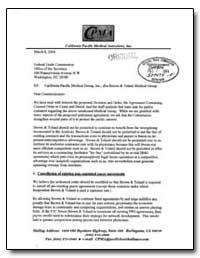 California Pacific, Medical Group, Inc.,... by Kiich, Robert, M. D.