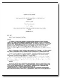 Lexsee 1976 Ftc Lexis 68 in the Matter o... by Federal Trade Commission