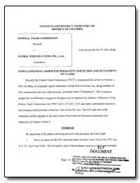 United States District Court for the Dis... by Federal Trade Commission