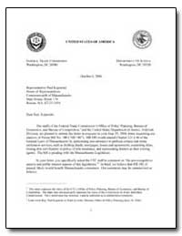 The Staffs of the Federal Trade Commissi... by Creighton, Susan A.