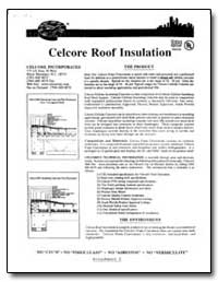 Celcore Roof Insulation by