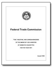 Federal Trade Commission Tar, Nicotine, ... by