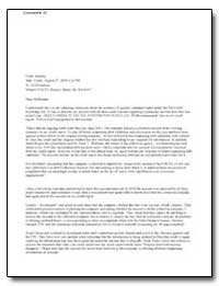 Subject: Facta Notices, Matter No. R4L 1... by