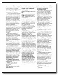 Federal Trade Commission 16 Cfr Part 312... by Thompson, Loren G.