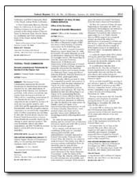 Federal Trade Commission Revised Jurisdi... by Clark, Donald S.