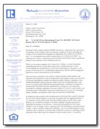 Re: Can-Spam Act Rulemaking, Project No.... by Ahlvers, Jerry