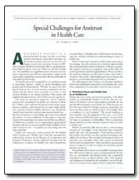 Special Challenges for Antitrust in Heal... by Leary, Thomas B.