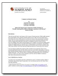 University of Maryland by Ausubel, Lawrence M.