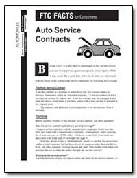 Ftc Facts for Consumers Automobiles by