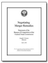 Negotiating Merger Remedies by Simons, Joseph J.