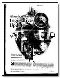 Fifteenth Annual Legislative Update by