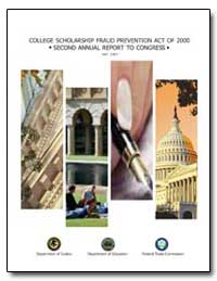 College Scholarship Fraud Prevention Act... by