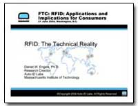 Rfid : The Technical Reality by Frankel, David P.