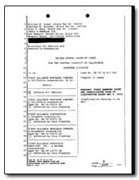 United States District Court for the Cen... by Anthony, Sheila F.