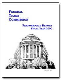 Federal Trade Commission Performance Rep... by
